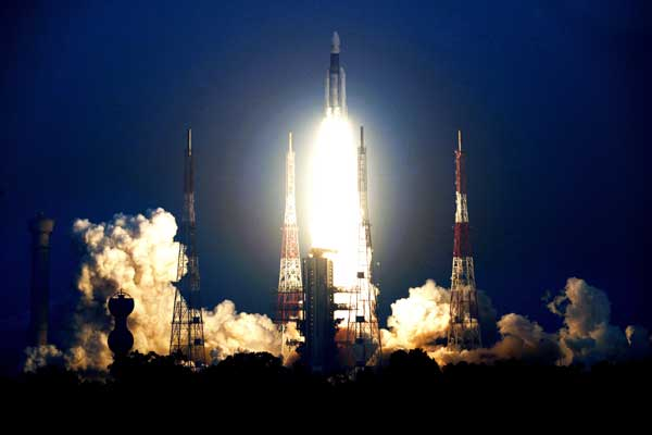 India Launches Gsat 29 Communications Satellites