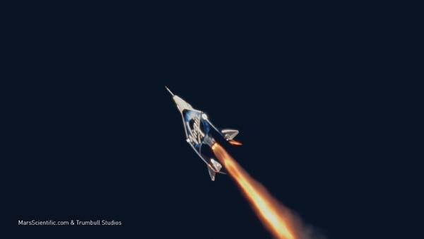 e91969a3212 Virgin Galactic SpaceShipTwo's first flight above 50 miles on Dec. 13,  2018. (Credit: Virgin Galactic)
