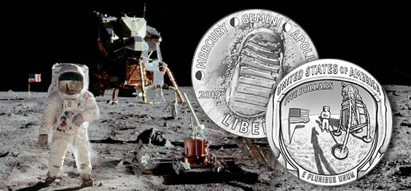 u s mint to issue apollo 11 commemorative coins next month