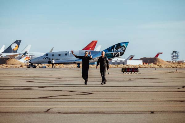 Praise from FAA for Virgin Galactic SpaceShipTwo's Flight Above 50 Miles