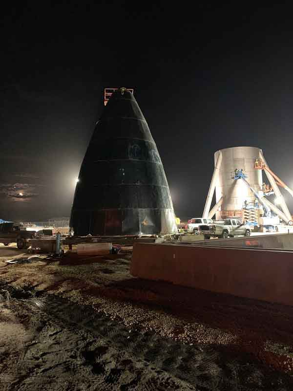 SpaceX Decides to Build Starship in Texas; R&D to Stay in California
