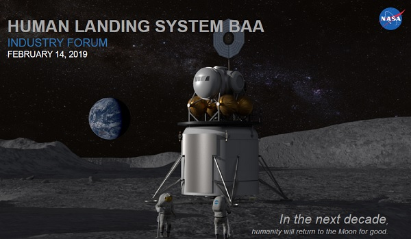 NASA Launches Effort to Develop Human Lunar Landing System