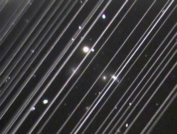 AAS Issues Position Statement on SpaceX's Satellite Constellations