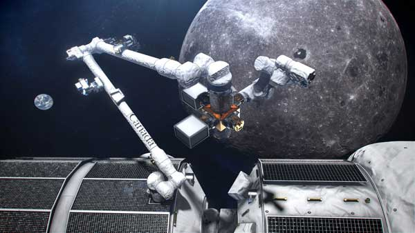 Canada Looks to MDA to Build Gateway Canadarm3 for Artemis Deep Space Missions