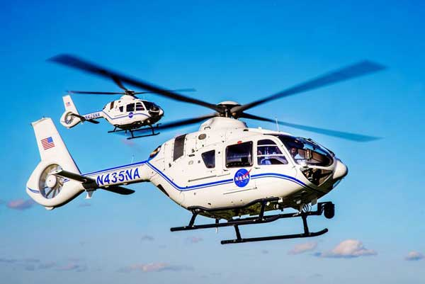 Two Airbus H135 helicopters delivered to support space exploration at NASA's Kennedy Space Center