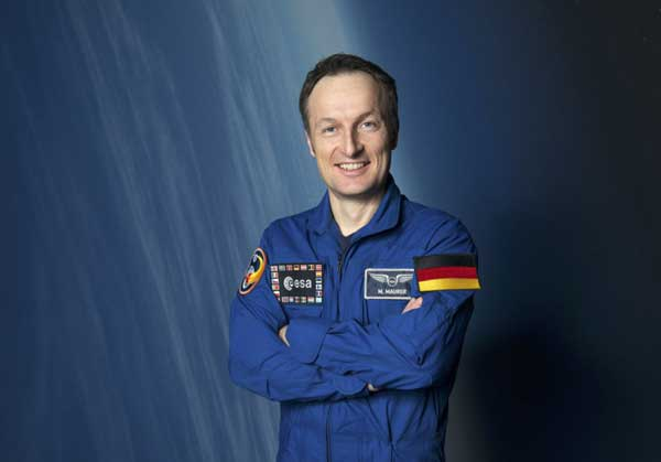 ESA Astronaut Matthias Mauer Assigned to SpaceX Crew-3 Mission